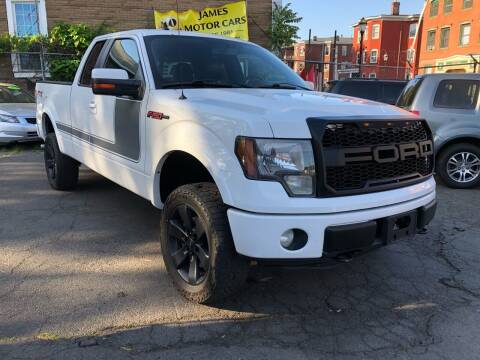 2012 Ford F-150 for sale at James Motor Cars in Hartford CT