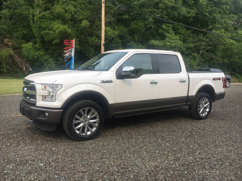 2015 Ford F-150 for sale at DONS AUTO CENTER in Caldwell OH