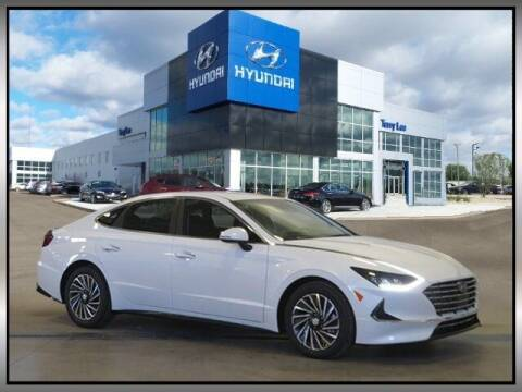 2021 Hyundai Sonata Hybrid for sale at Terry Lee Hyundai in Noblesville IN