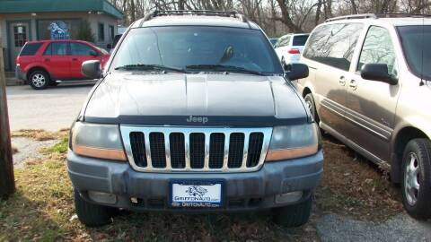 2000 Jeep Grand Cherokee for sale at Griffon Auto Sales Inc in Lakemoor IL