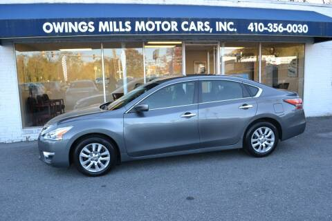 2014 Nissan Altima for sale at Owings Mills Motor Cars in Owings Mills MD