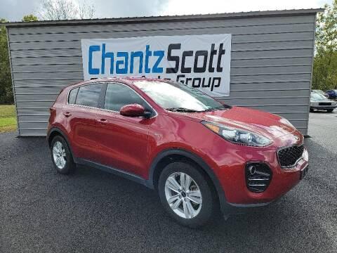 2019 Kia Sportage for sale at Chantz Scott Kia in Kingsport TN