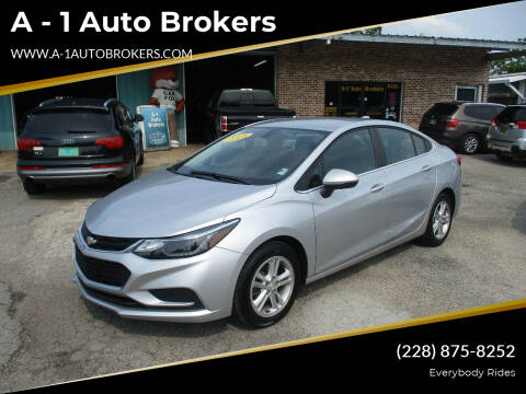 2018 Chevrolet Cruze for sale at A - 1 Auto Brokers in Ocean Springs MS