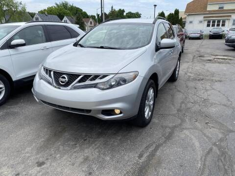 2012 Nissan Murano for sale at CLASSIC MOTOR CARS in West Allis WI
