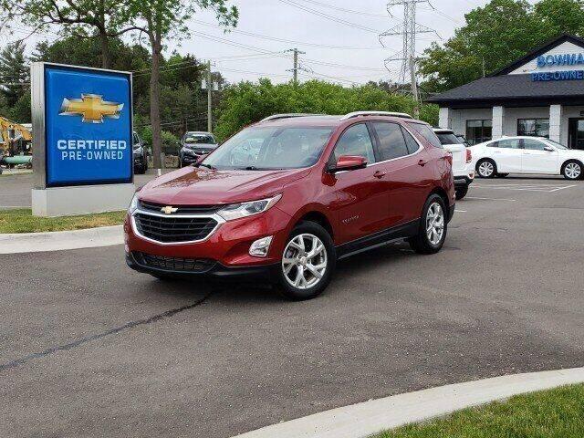 2018 Chevrolet Equinox for sale at Bowman Auto Center in Clarkston MI