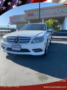 2011 Mercedes-Benz C-Class for sale at RN Auto Sales Inc in Sacramento CA