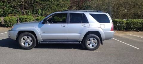 2004 Toyota 4Runner for sale at Unity Auto Sales Inc in Charlotte NC