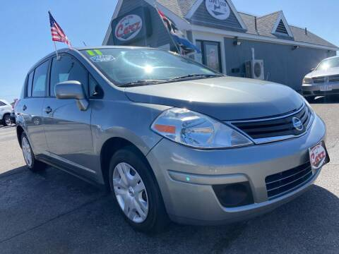 2011 Nissan Versa for sale at Cape Cod Carz in Hyannis MA