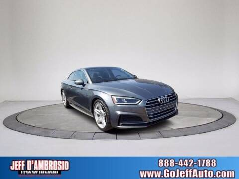 2018 Audi A5 for sale at Jeff D'Ambrosio Auto Group in Downingtown PA