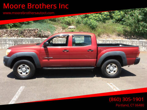 2005 Toyota Tacoma for sale at Moore Brothers Inc in Portland CT
