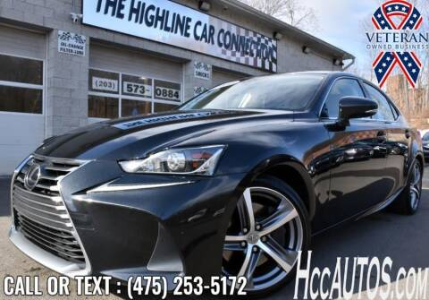 2017 Lexus IS 200t for sale at The Highline Car Connection in Waterbury CT