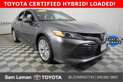 2020 Toyota Camry Hybrid for sale at Sam Leman Toyota Bloomington in Bloomington IL