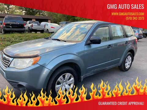 2009 Subaru Forester for sale at GMG AUTO SALES in Scranton PA