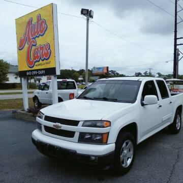 2012 Chevrolet Colorado for sale at Auto Cars in Murrells Inlet SC