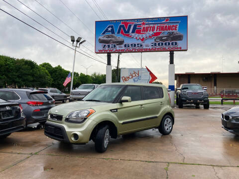 2013 Kia Soul for sale at ANF AUTO FINANCE in Houston TX