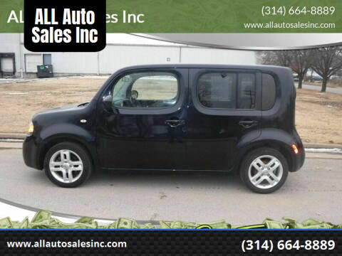 2014 Nissan cube for sale at ALL Auto Sales Inc in Saint Louis MO
