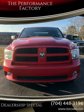 2012 RAM Ram Pickup 1500 for sale at The Performance Factory in Concord NC