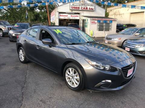 2014 Mazda MAZDA3 for sale at Riverside Wholesalers 2 in Paterson NJ