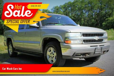 2004 Chevrolet Suburban for sale at Car Wash Cars Inc in Glenmont NY