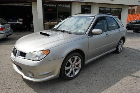 2007 Subaru Impreza for sale at PA Motorcars in Conshohocken PA