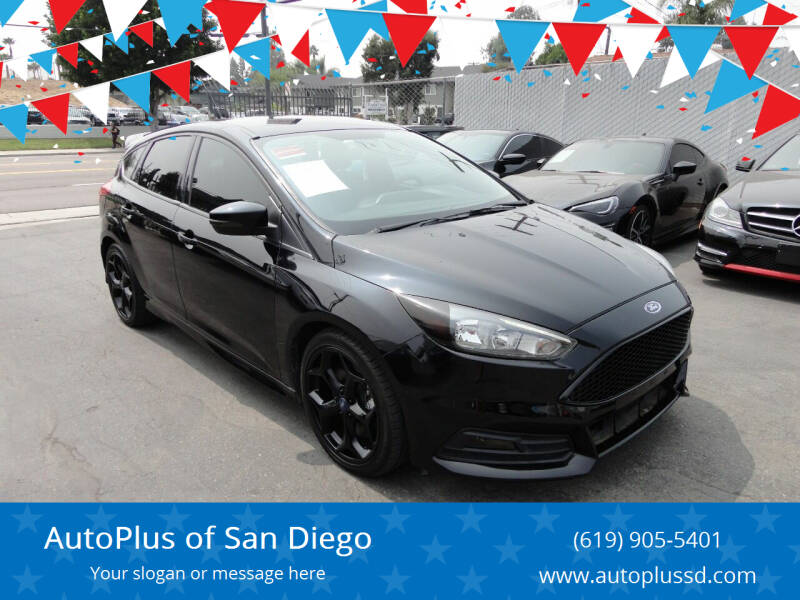2016 Ford Focus for sale at AutoPlus of San Diego in Spring Valley CA