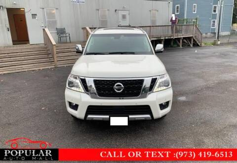 2017 Nissan Armada for sale at Popular Auto Mall Inc in Newark NJ