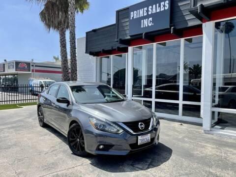 2017 Nissan Altima for sale at Prime Sales in Huntington Beach CA