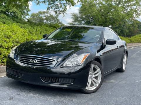 2010 Infiniti G37 Coupe for sale at William D Auto Sales in Norcross GA