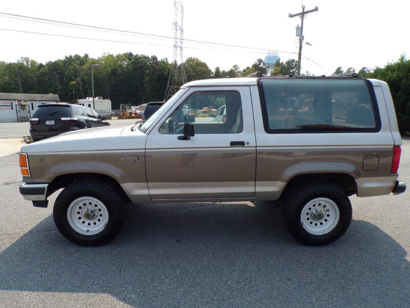 1990 Ford Bronco II for sale at Cambria Cars in Mooresville NC