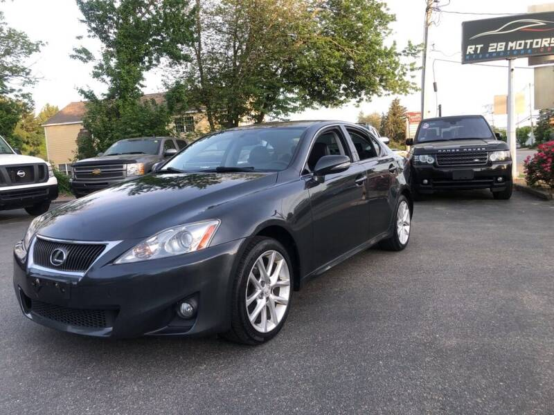 2011 Lexus IS 250 for sale at RT28 Motors in North Reading MA