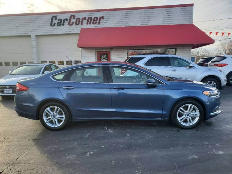 2018 Ford Fusion for sale at Car Corner in Mexico MO