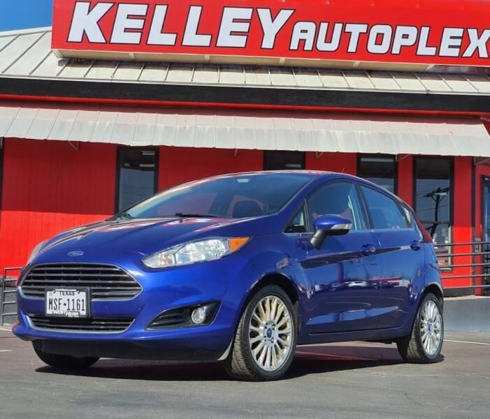 2014 Ford Fiesta for sale at Kelley Autoplex in San Antonio TX