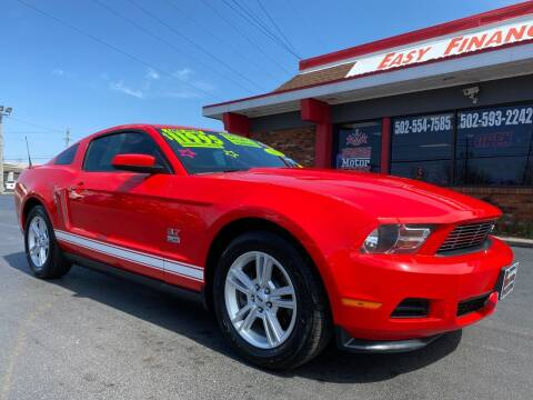 2012 Ford Mustang for sale at Premium Motors in Louisville KY