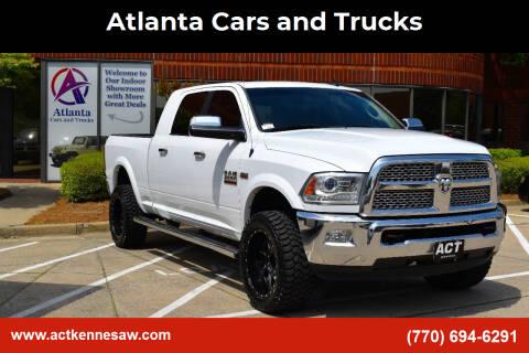 2015 RAM Ram Pickup 2500 for sale at Atlanta Cars and Trucks in Kennesaw GA