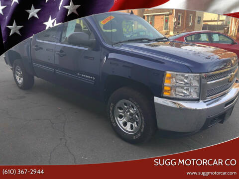2013 Chevrolet Silverado 1500 for sale at Sugg Motorcar Co in Boyertown PA