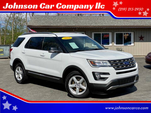 2016 Ford Explorer for sale at Johnson Car Company llc in Crown Point IN