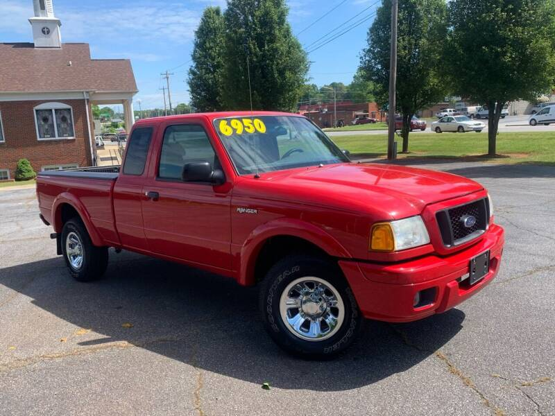 2004 Ford Ranger for sale at Mike's Wholesale Cars in Newton NC