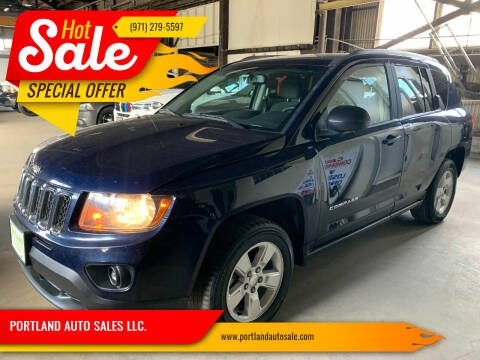 2016 Jeep Compass for sale at PORTLAND AUTO SALES LLC. in Portland OR
