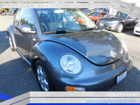 2002 Volkswagen New Beetle for sale at Autoplex Motors in Lynnwood WA