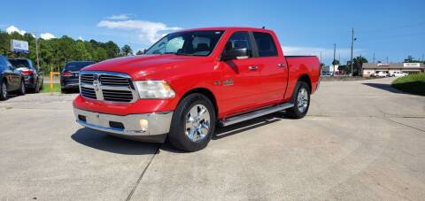 2015 RAM Ram Pickup 1500 for sale at WHOLESALE AUTO GROUP in Mobile AL