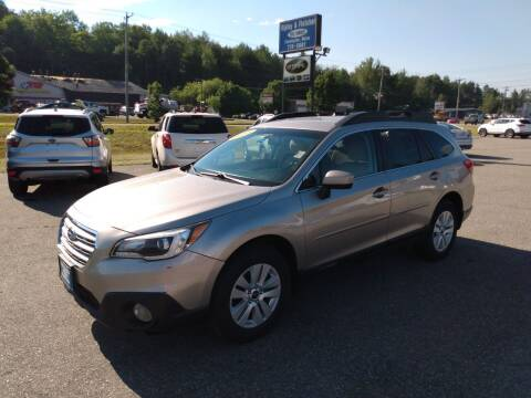 2015 Subaru Outback for sale at Ripley & Fletcher Pre-Owned Sales & Service in Farmington ME