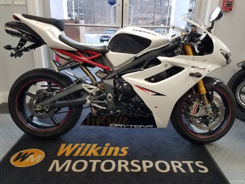 2012 Triumph Daytona 675R for sale at WILKINS MOTORSPORTS in Brewster NY