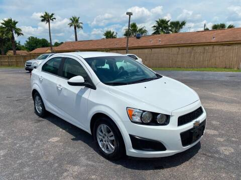 2015 Chevrolet Sonic for sale at ASTRO MOTORS in Houston TX