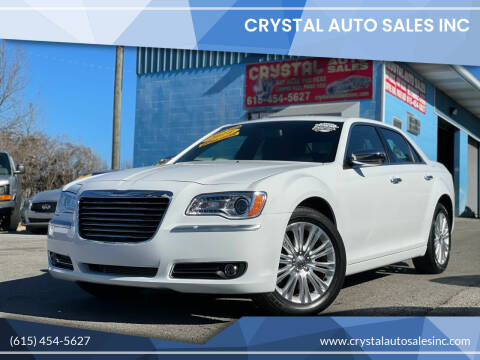 2014 Chrysler 300 for sale at Crystal Auto Sales Inc in Nashville TN