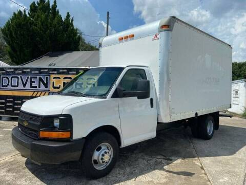 2013 Chevrolet Express Cutaway for sale at DOVENCARS CORP in Orlando FL