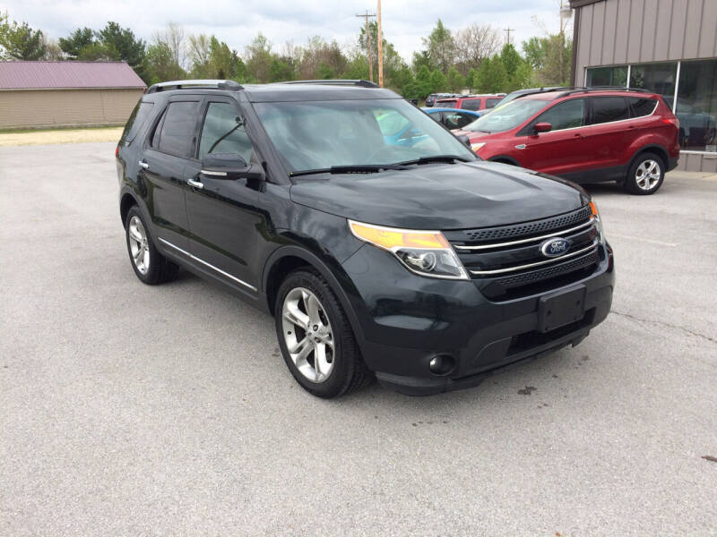 2014 Ford Explorer for sale at KEITH JORDAN'S 10 & UNDER in Lima OH