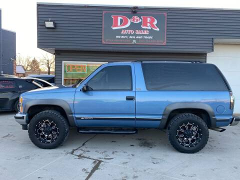 1994 Chevrolet Blazer for sale at D & R Auto Sales in South Sioux City NE