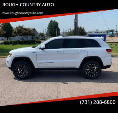 2020 Jeep Grand Cherokee for sale at ROUGH COUNTRY AUTO in Dyersburg TN