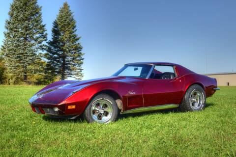 1973 Chevrolet Corvette for sale at Hooked On Classics in Watertown MN