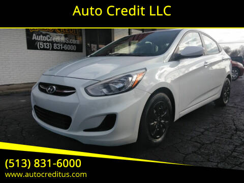 2016 Hyundai Accent for sale at Auto Credit LLC in Milford OH